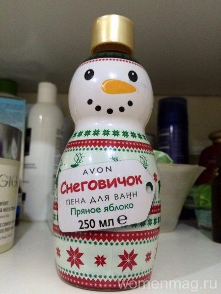 Пена для ванн Avon «Снеговичок»