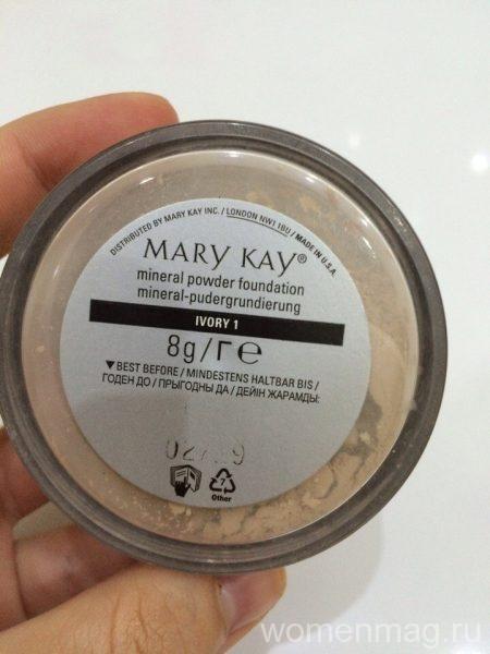 Минеральная пудра Mary Kay