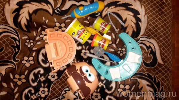 Набор для маленьких стоматологов «Мистер зубастик» от Hasbro Play-Doh