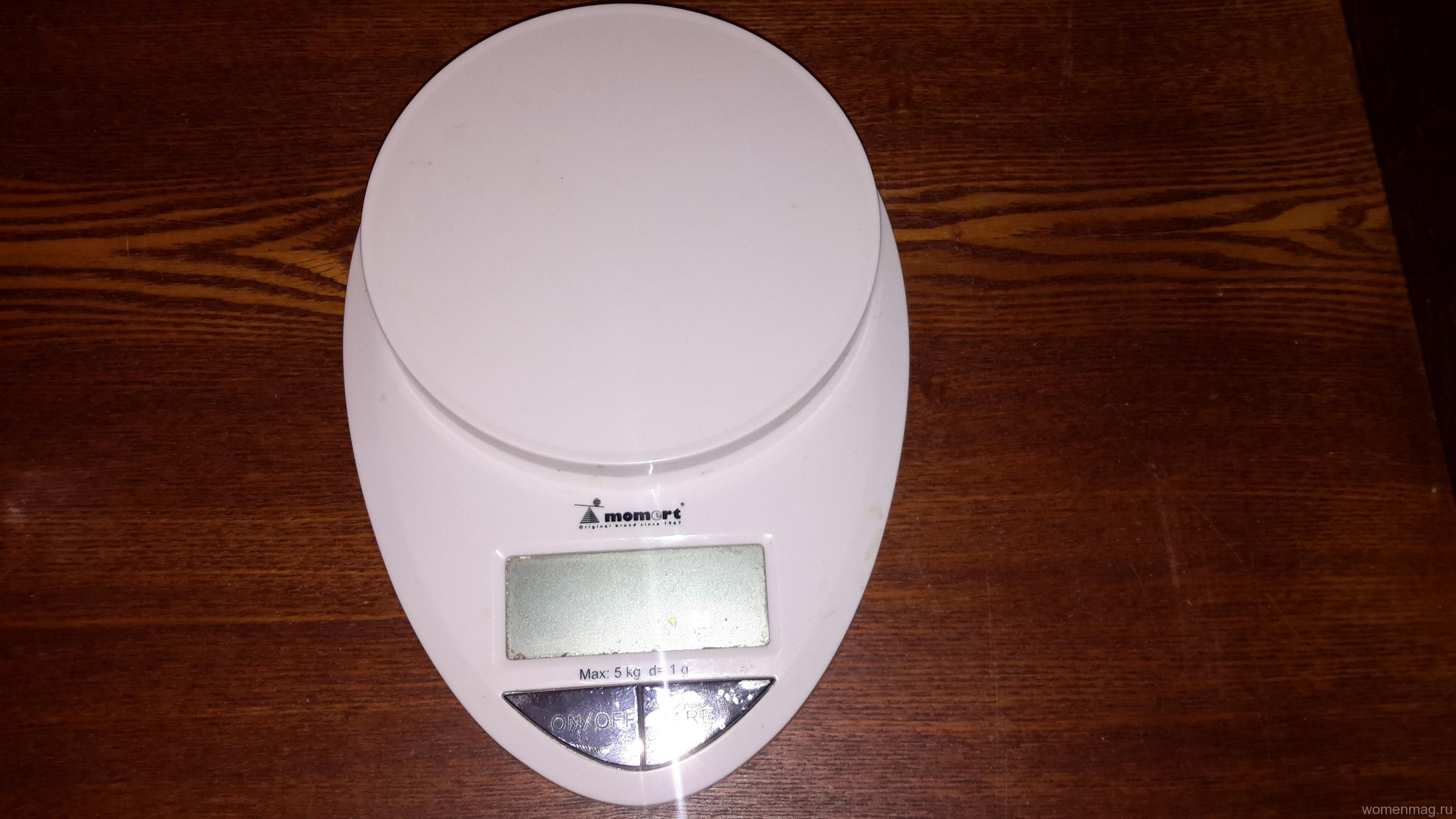 Если увидите в продаже кухонные весы Momert 6839 — берите, не задумываясь!