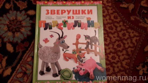 Книга Зверушки из пластилина