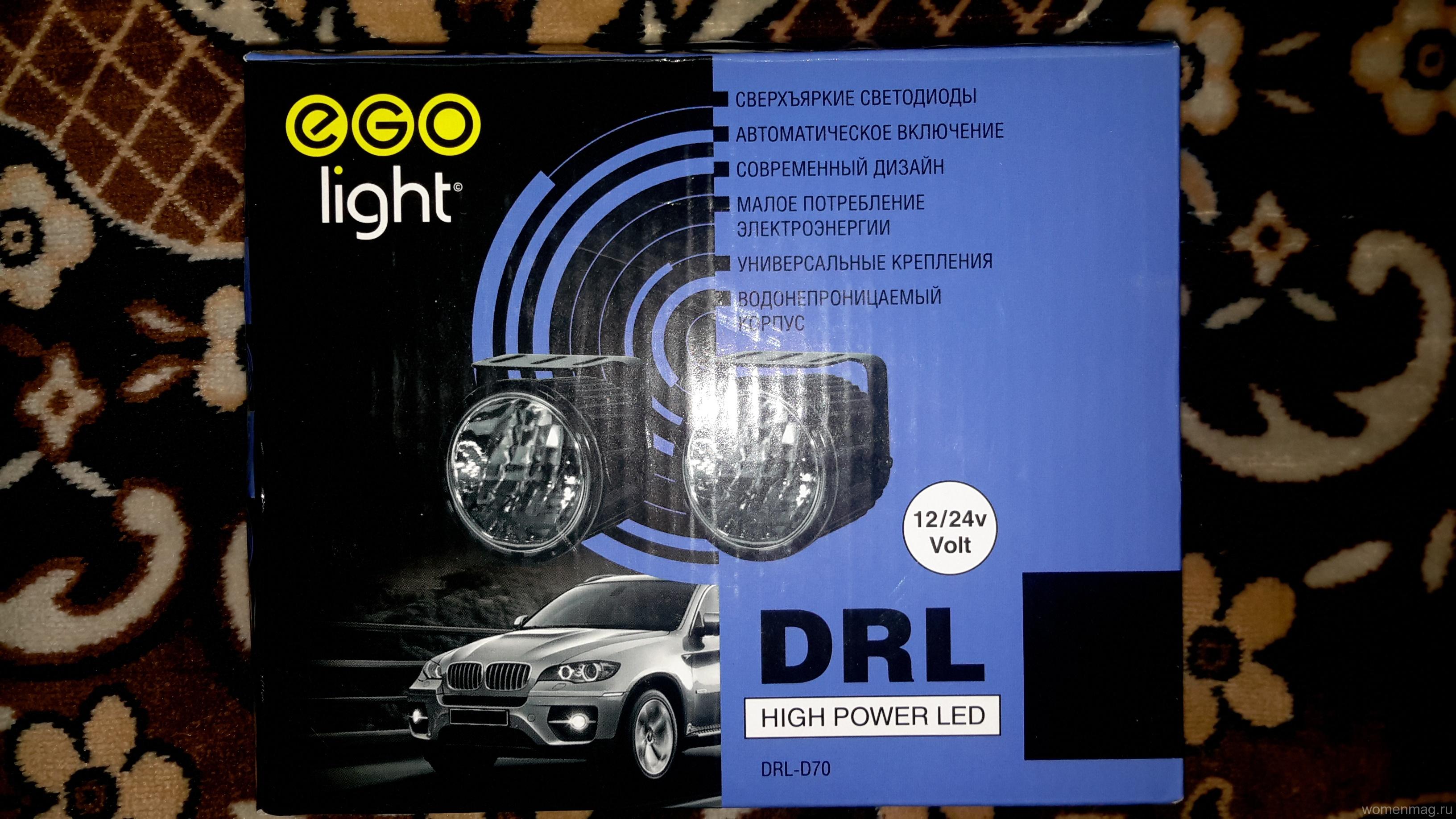 Дневные ходовые огни на Ниву-Шевроле EGO Light DRL-D70. Отзыв