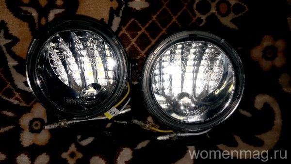 Дневные ходовые огни на Ниву-Шевроле EGO Light DRL-D70