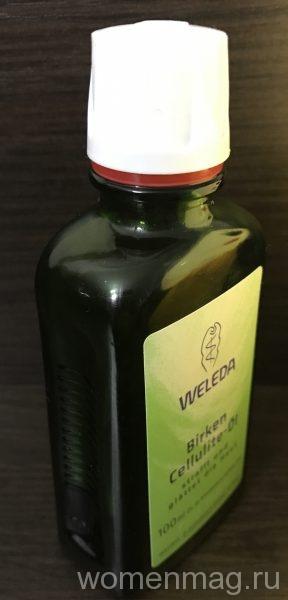 Березовое антицеллюлитное масло Weleda