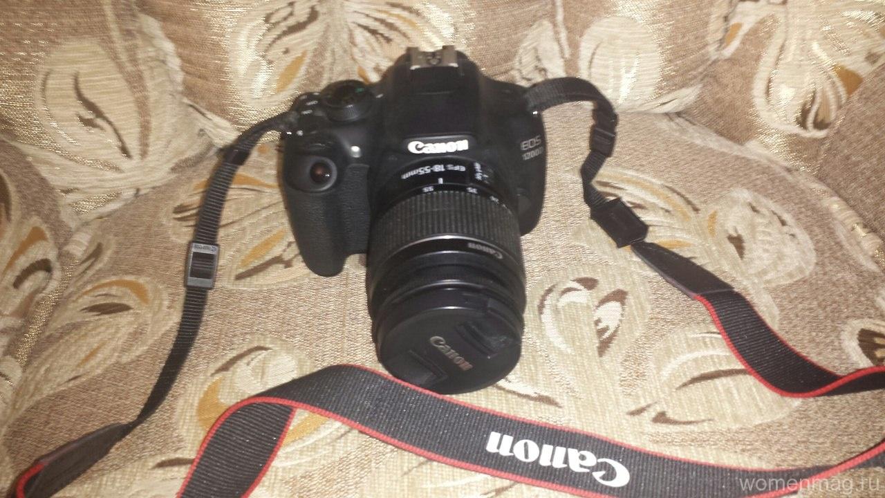 Фотоаппарат Canon EOS 1200D. Отзыв