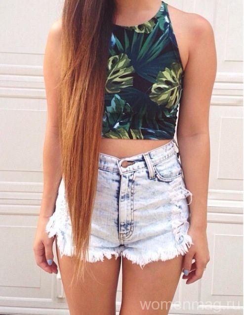 Ношение очень длинных волос
