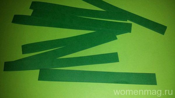 Как сделать новогодний венок из бумаги своими руками