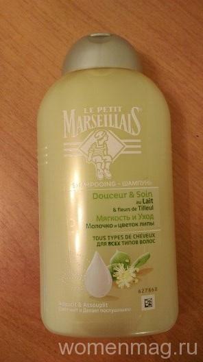 Шампунь для волос La Petit Marseiliais молочко и цветок липы для всех типов волос
