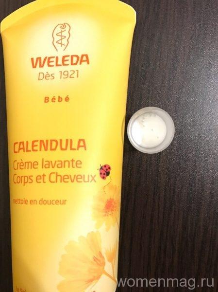 Детский шампунь-гель с календулой Weleda