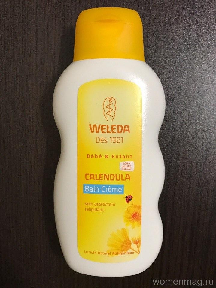 Молочко для купания Weleda Calendula подарит теплоту и уют малышу и сделает кожу еще нежнее