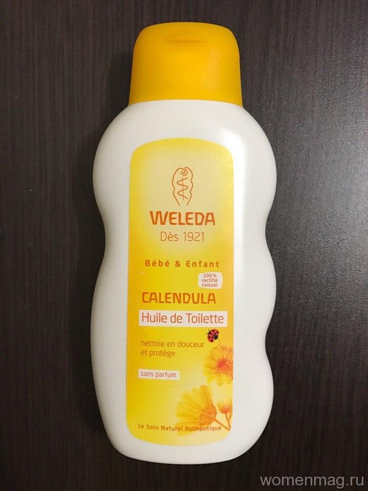 Масло для младенцев Weleda Calendula — идеальное масло для самых маленьких