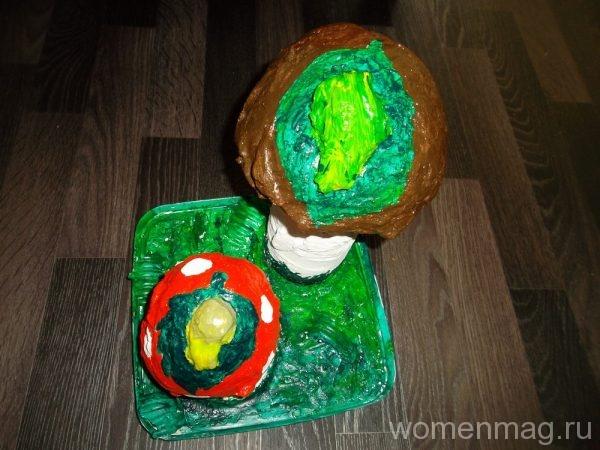 Садовые фигурки грибы из гипса своими руками