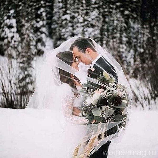 Интересные идеи для зимней свадьбы