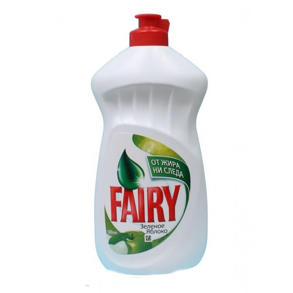 Средство для мытья посуды Fairy «Зеленое яблоко». Отзыв