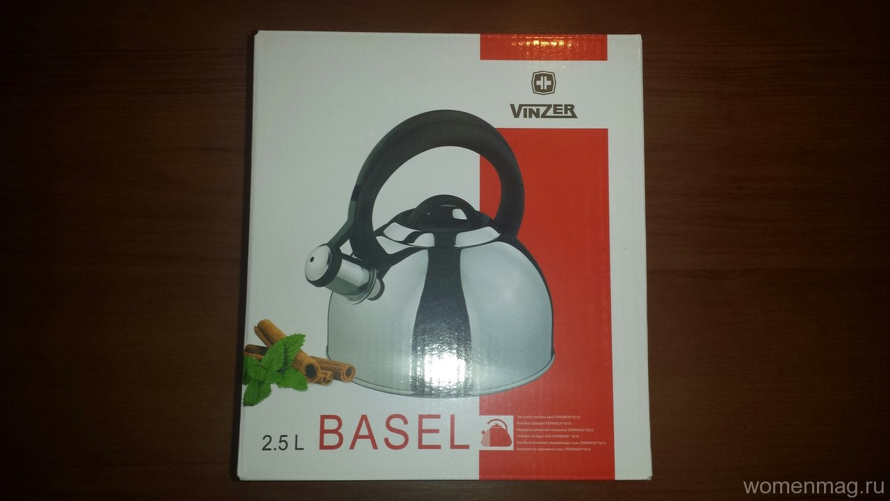 Чайник Vinzer Basel. Отзыв