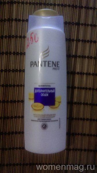 Шампунь Pantene Pro-V дополнительный объем для тонких волос