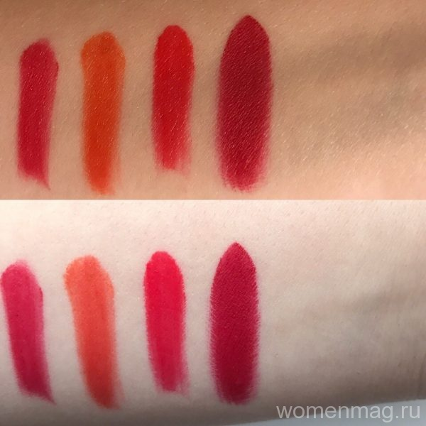 Помада для губ MAC Matte Lipstick Russian Red