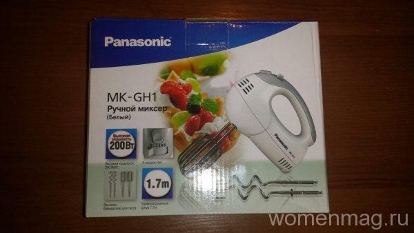 Ручной миксер Panasonic MK-GH1