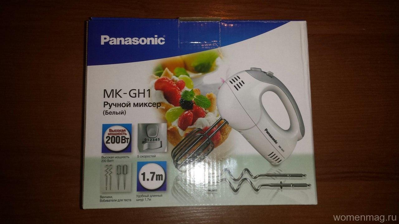 Ручной миксер Panasonic MK-GH1. Отзыв