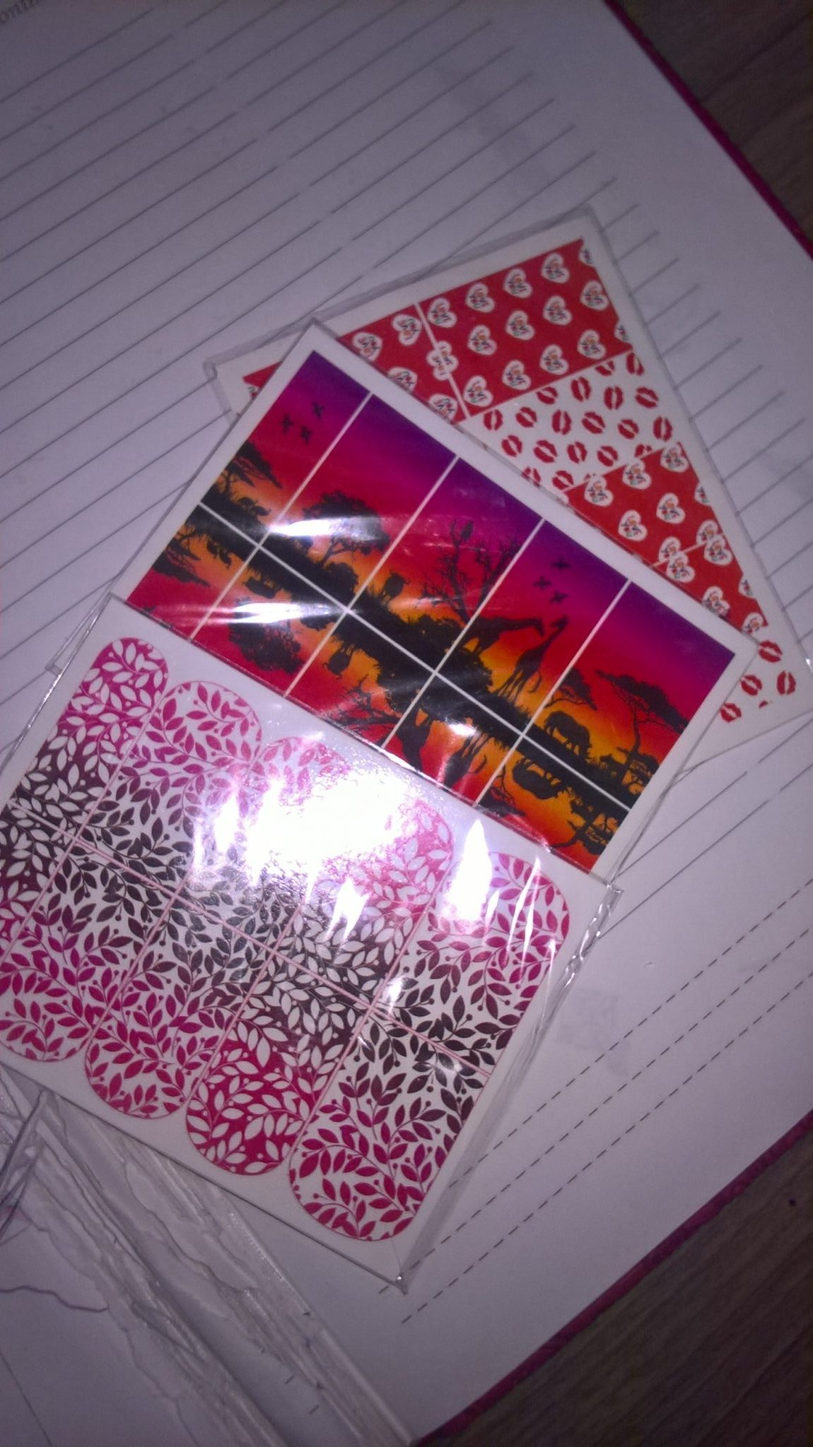 Переводные наклейки для ногтей Pink up Nail Design. Отзыв