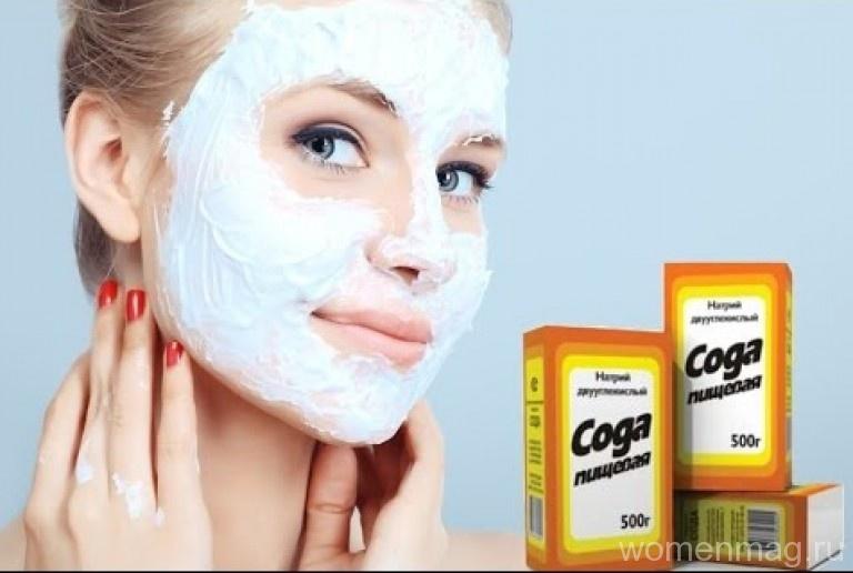 Чем полезна пищевая сода для лица и волос?