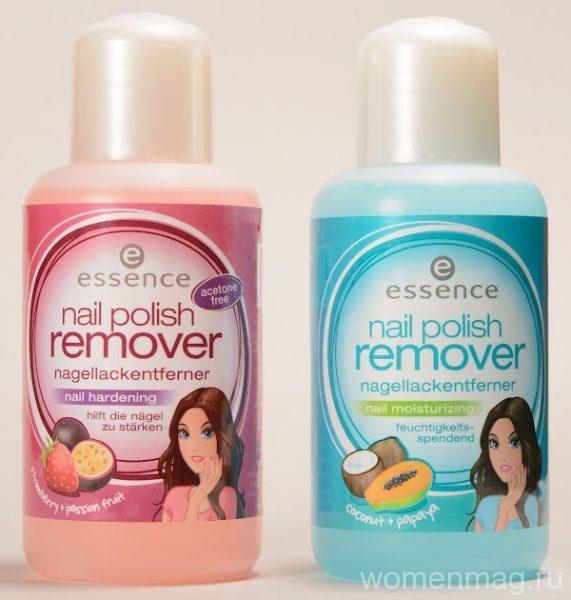 Жидкость для снятия лака Essence Nail Polish Remover Moisturizing Coconut & Papaya