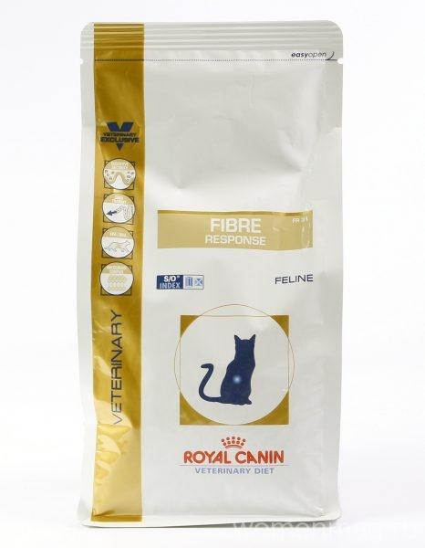 Диета Royal Canin Fibre Response FR31 для кошек