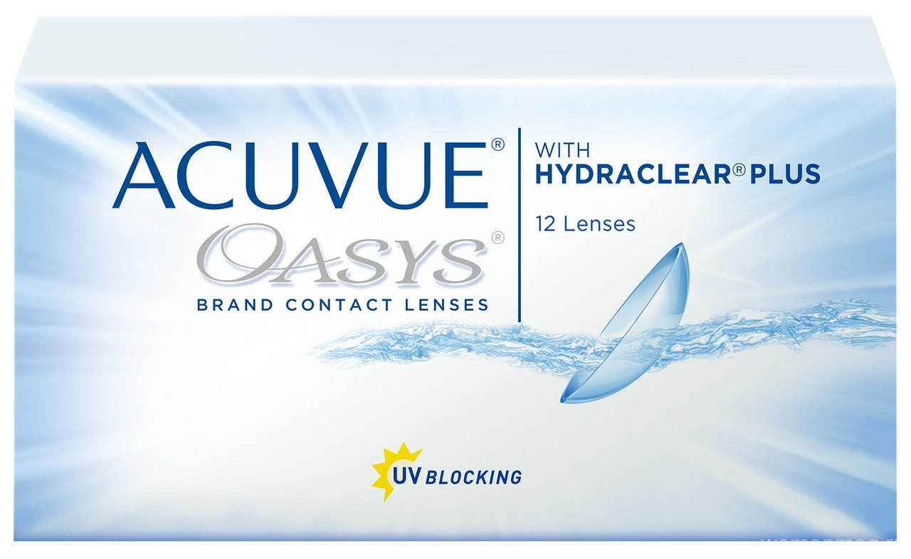 Контактные линзы Acuvue Oasys with Hydraclear Plus. Отзыв