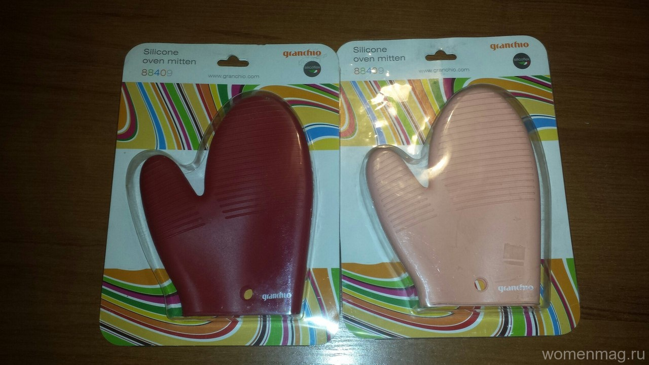 Силиконовые рукавицы. Отзыв