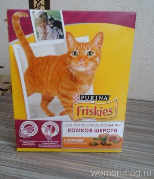 Purina Friskies для контроля образования комков шерсти