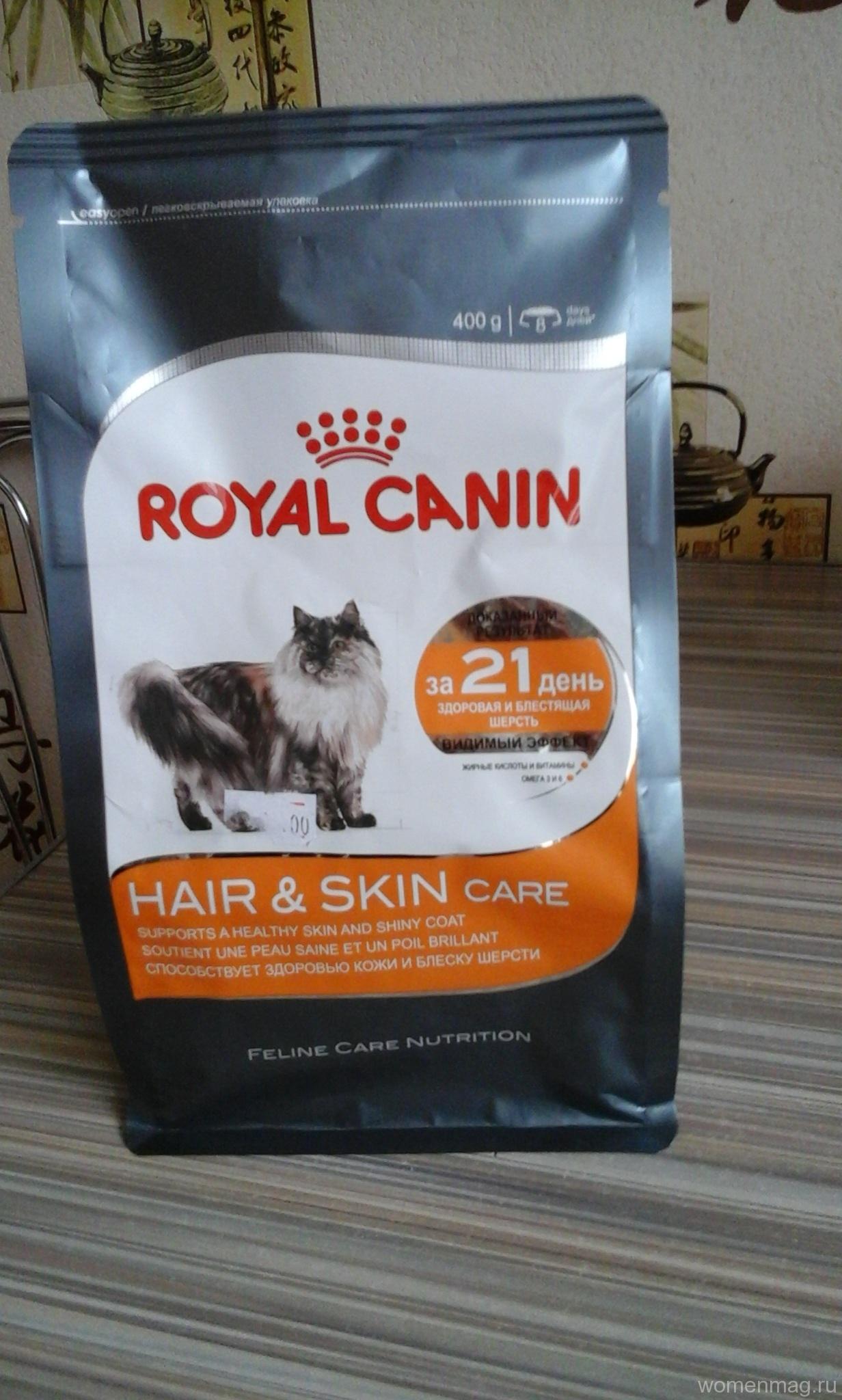 Отзыв о корме для кошек Royal Canin