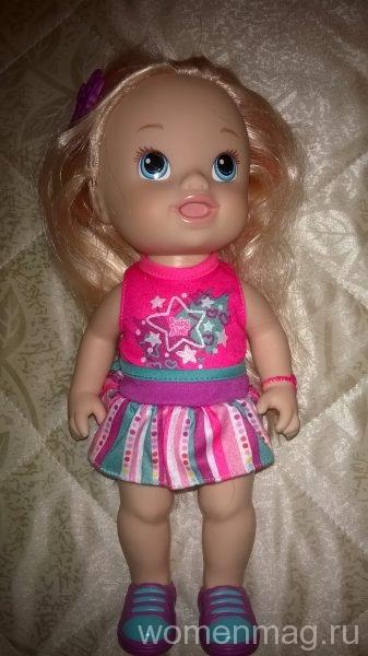 Кукла Baby Alive с длинными волосами