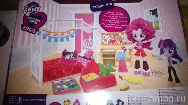 Кукла Pinkie pie от Little Pony Equestria Girls Minis