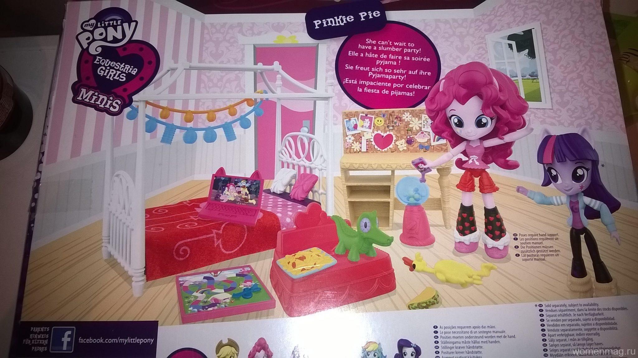 Отзыв о игрушке кукле Pinkie pie от Little Pony Equestria Girls Minis