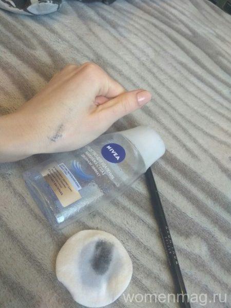 Двухфазное средство для удаления макияжа с глаз Nivea, экстракт василька