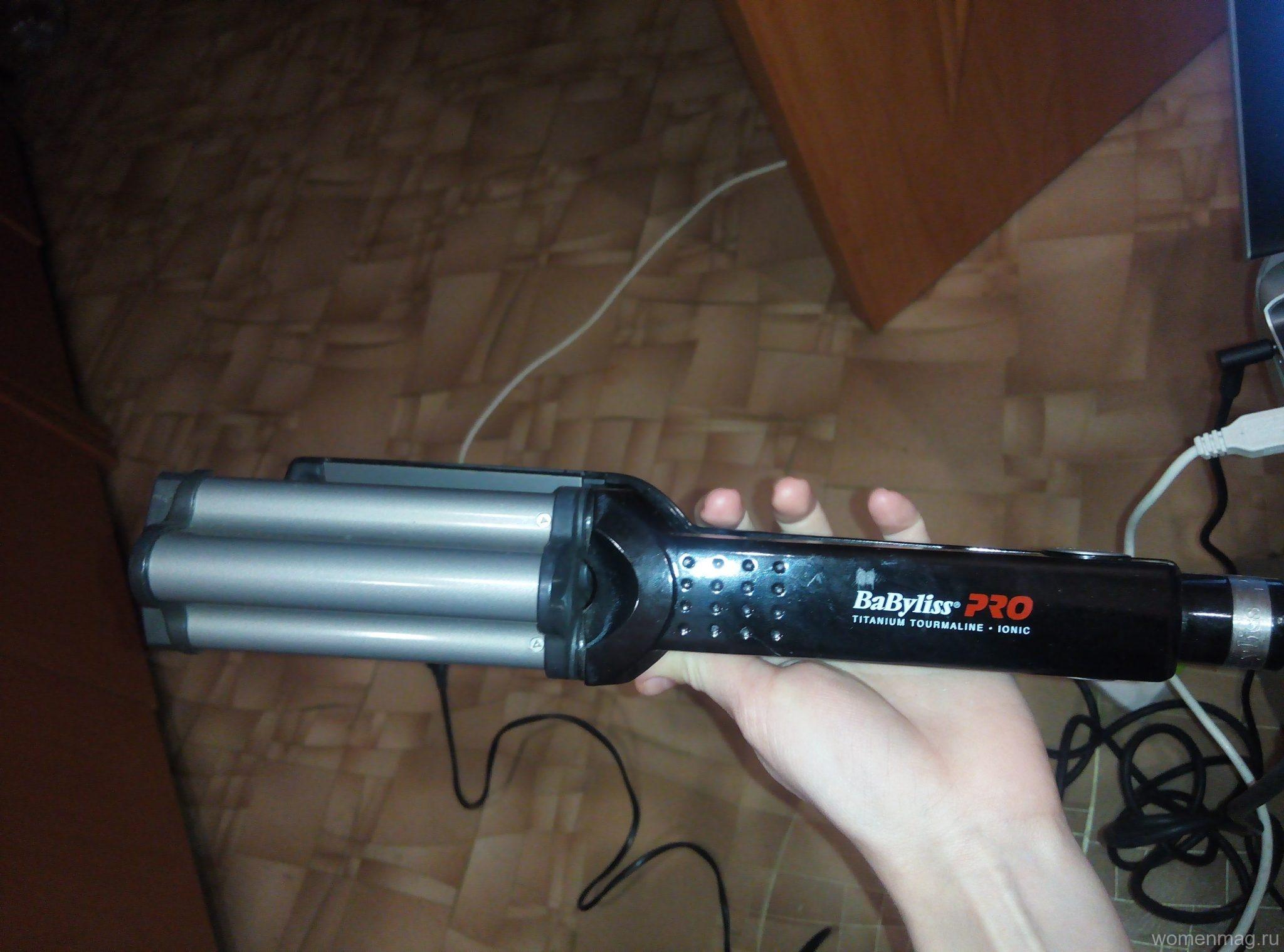 Плойка для волос Babyliss Ionic 3D Hi-Def Waver. Отзыв