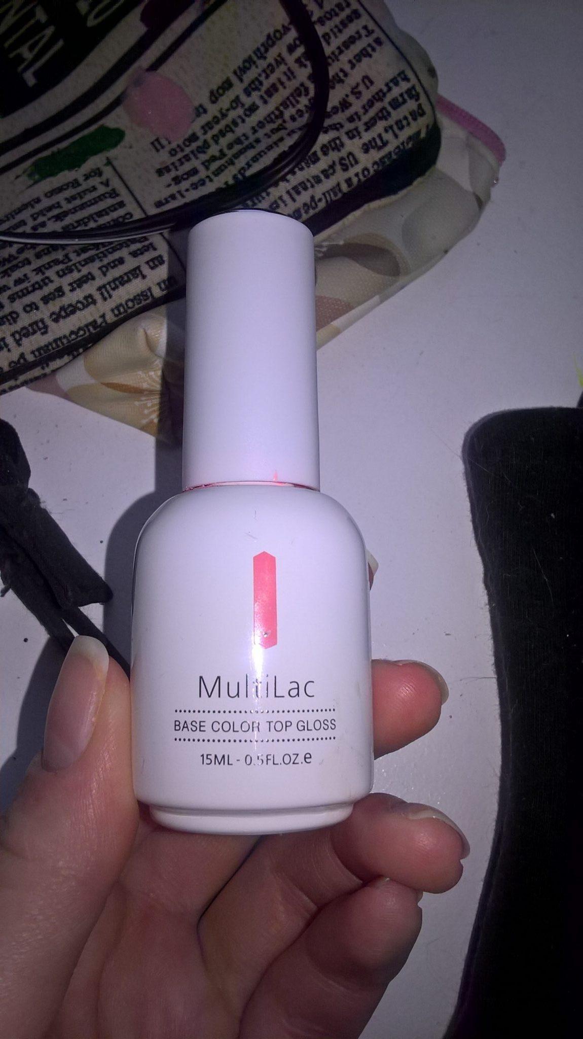 Гель-лак для ногтей RuNail MultiLac. Отзыв