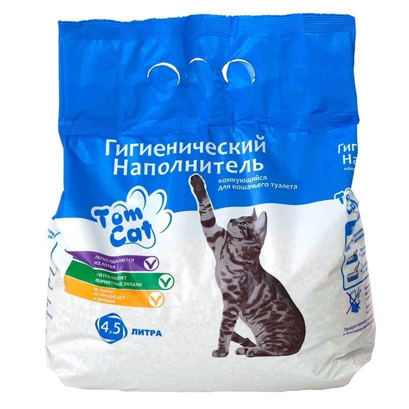 Отзыв о Гигиеническом наполнителе комкующемся для кошачьего туалета Tom Cat