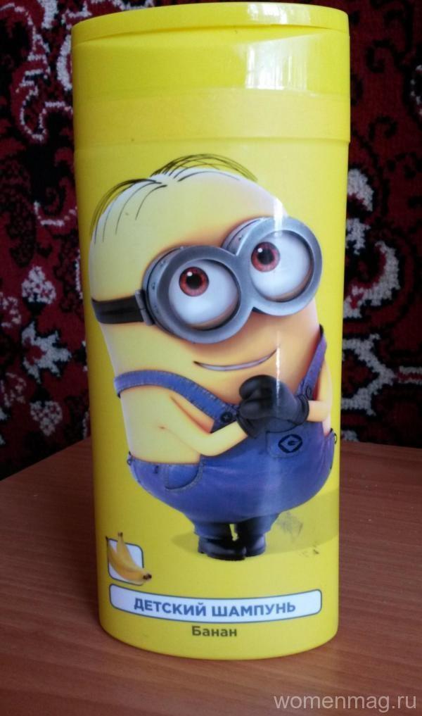 Детский шампунь «Банан» Clever Company. Отзыв
