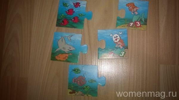 Детская игра Считалочка с русалочкой