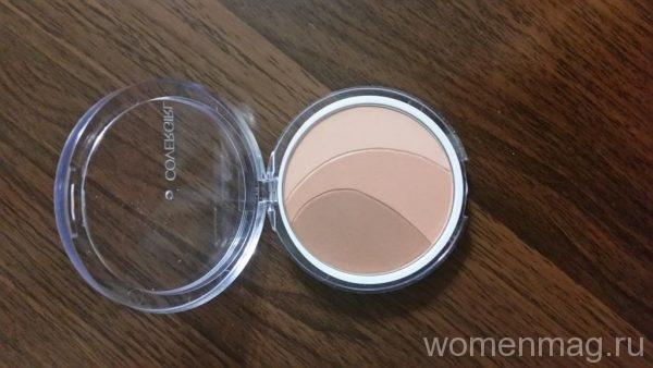 Трехцветные румяна Covergirl Clean Glow 3 оттенка