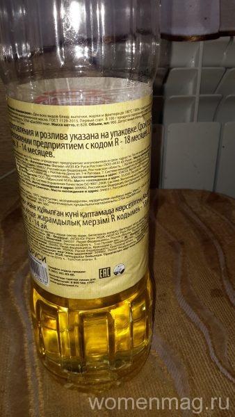 Масло подсолнечное Аннинское