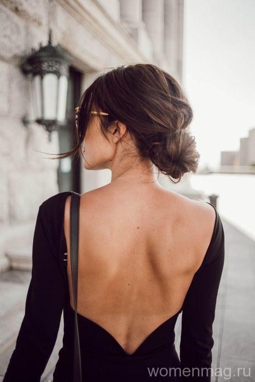 В моде одежда с открытой спиной