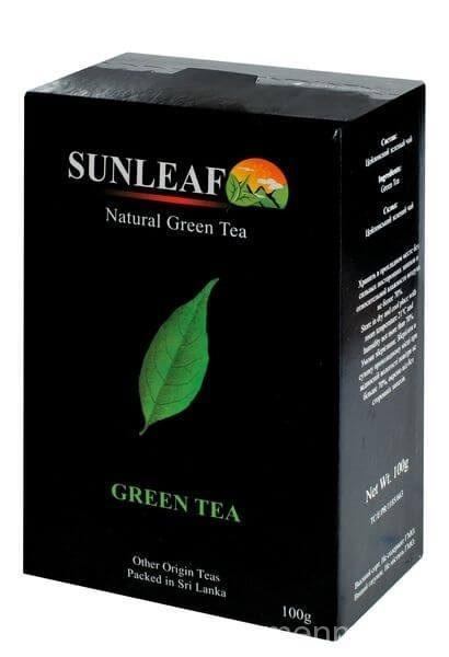 Зелёный чай Sunleaf