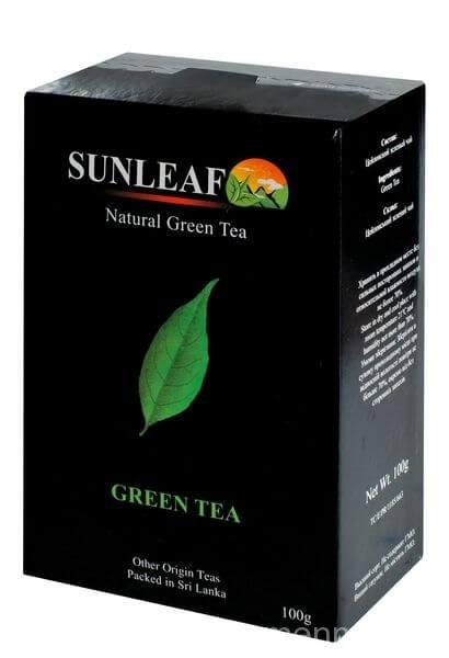 Отзыв о зелёном чае Sunleaf