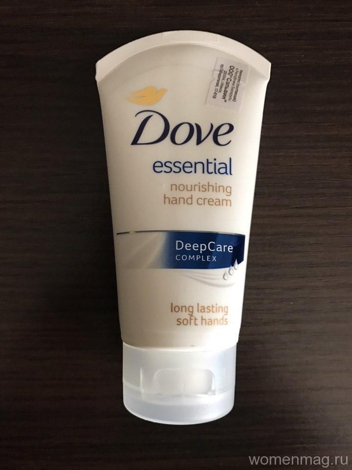 Крем для рук Dove Essential Основной уход. Отзыв