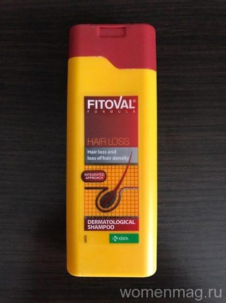 Дерматологический шампунь Fitoval против выпадения волос