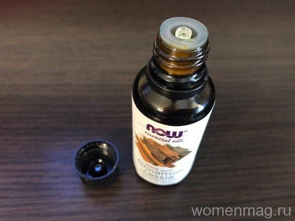 Эфирное масло корицы Now Foods Essential Oils Cinnamon Cassia