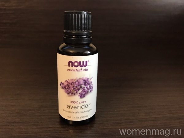 Эфирное масло лаванды Now Foods Essential Oils Lavender