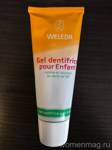 Детская зубная паста-гель Weleda с календулой
